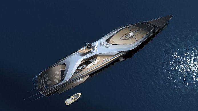 Kairos is het nieuwste superjachtconcept van het Alblasserdamse Oceanco.