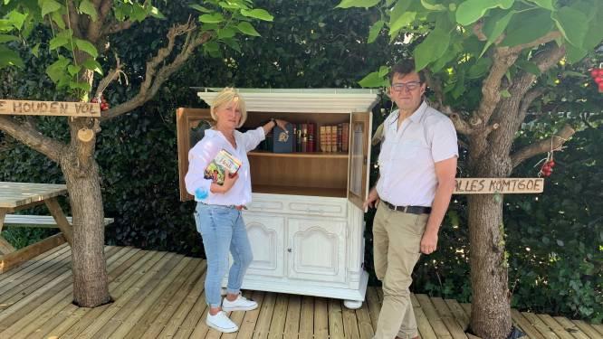 Huis van de Tomaat kreeg boekenruilkast