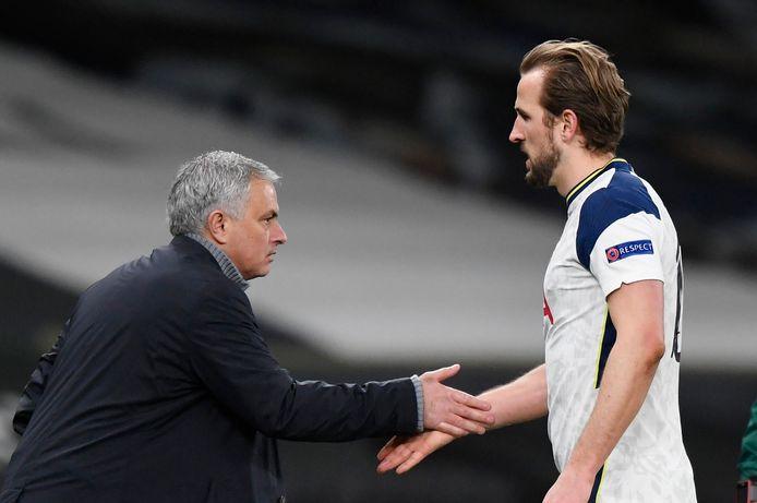 Mourinho en Kane.