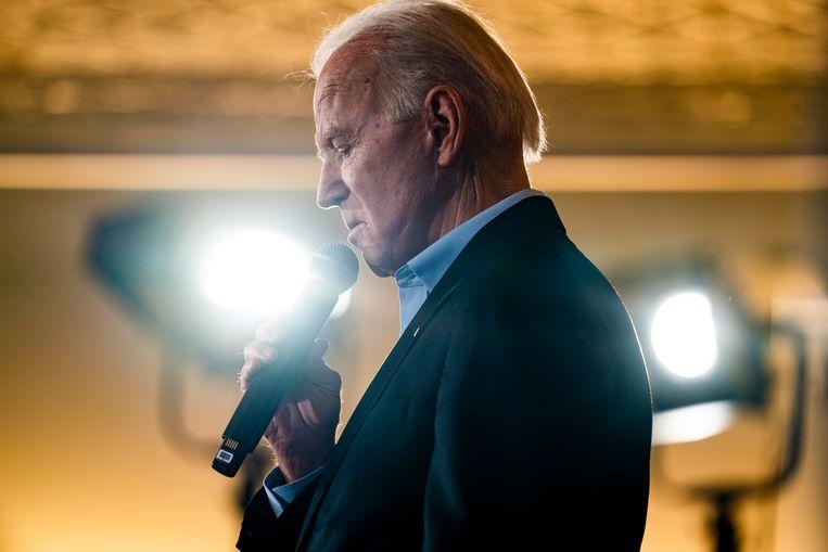 Presidentskandidaat Joe Biden. Beeld EPA