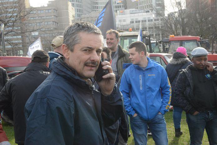 Kees Hanse stond in februari dit jaar voor de tweede keer op het Malieveld in Den Haag.