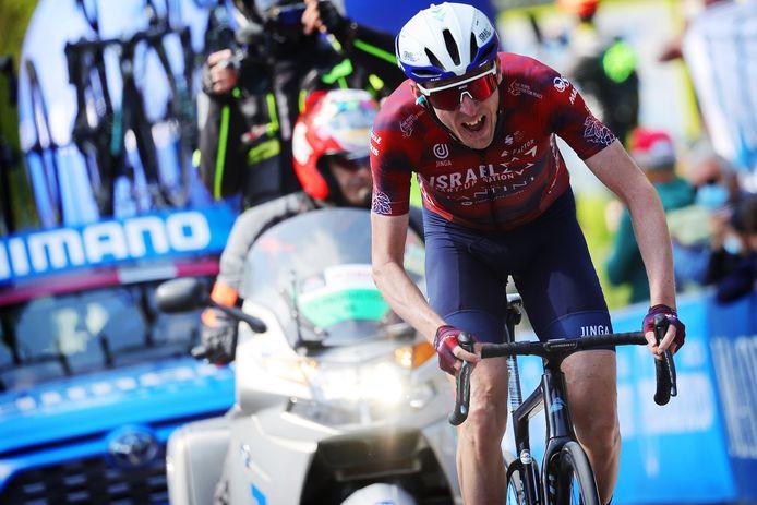 Martin op weg naar de zege in etappe 17.
