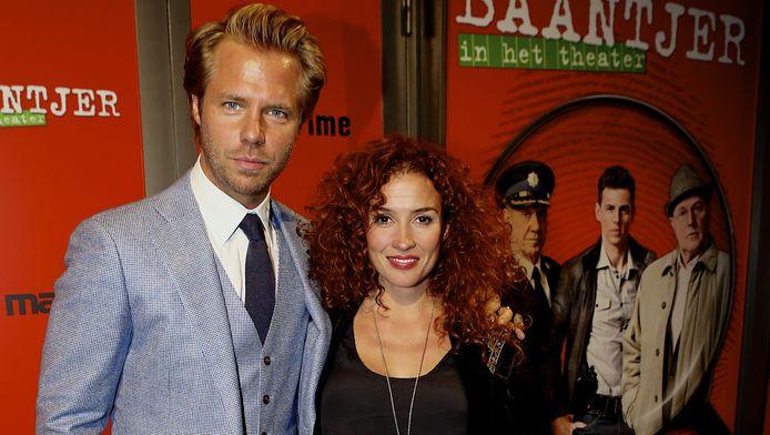 Thijs Römer met partner Katja Römer-Schuurman.