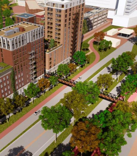 Daniel den Hoedbrug verbindt ziekenhuis met nieuwe wijk