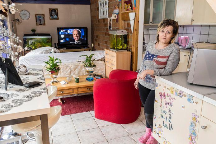 Natasja Dogge, bewoonster van een van de bungalows op het Sunclasspark.