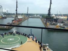Sterk staaltje stuurmanskunst van kapitein Oasis of the Seas