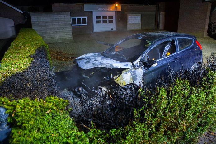 Autobrand in Schijndel