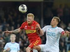 GA Eagles won pas één keer eerder van Jong PSV