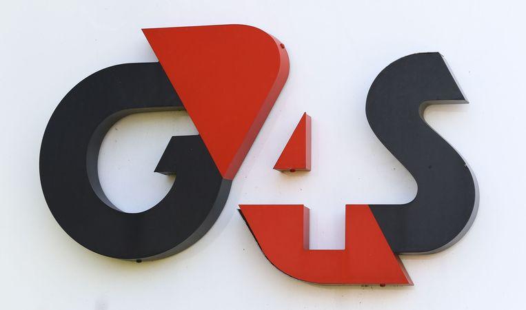 Het logo van G4S.