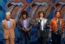 Les Rolling Stones en 2002.