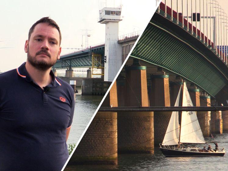 Jeroen verzamelt bijna 13.000 handtekeningen tegen gedeeltelijke sluiting rond Haringvlietbrug
