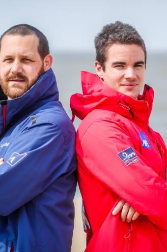 """DUBBELINTERVIEW. Strandredders en 'Helden van Hier' Niels en Jonathan over de stijgende agressie: """"We houden ons hart vast voor komend seizoen"""""""