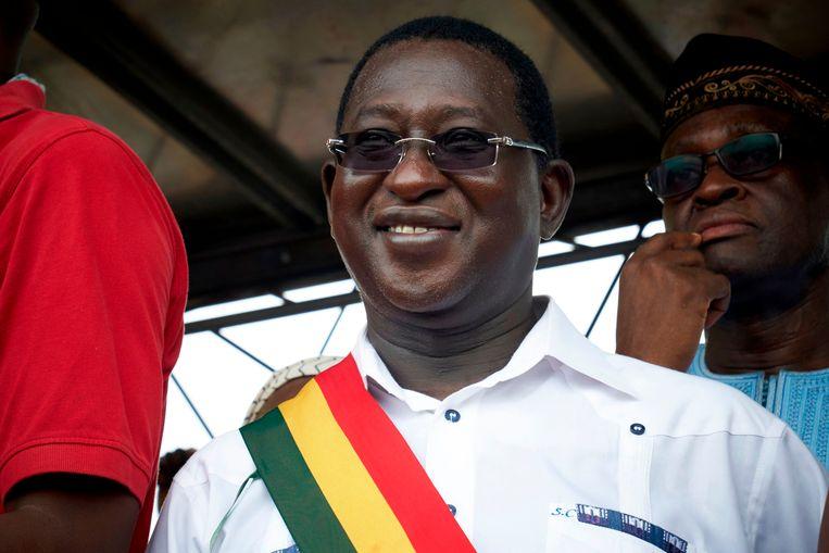De Malinese oppositieleider Soumaïla Cissé. Beeld AFP