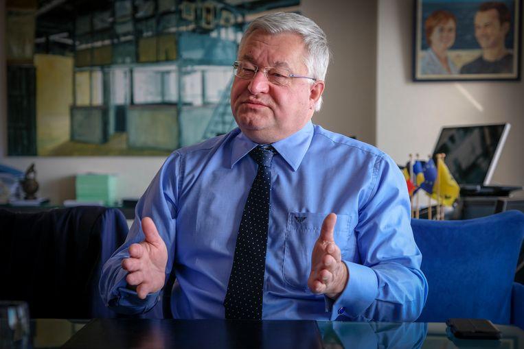 minister Guy Vanhengel