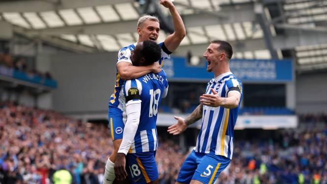 Trossard en Tielemans delen elk een assist uit, Brighton trekt aan het langste eind tegen Leicester