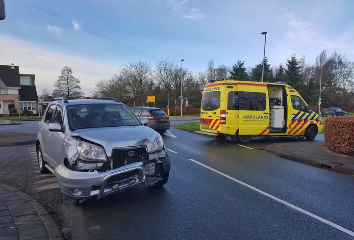 Gewonde door gladheid ongeval Oisterwijk