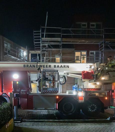 Regenwater stroomt naar binnen bij Baarnse flat zonder dak