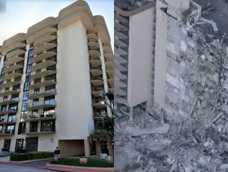 Groot appartementencomplex deels ingestort in Miami: minstens één dode, nog 99 mensen vermist