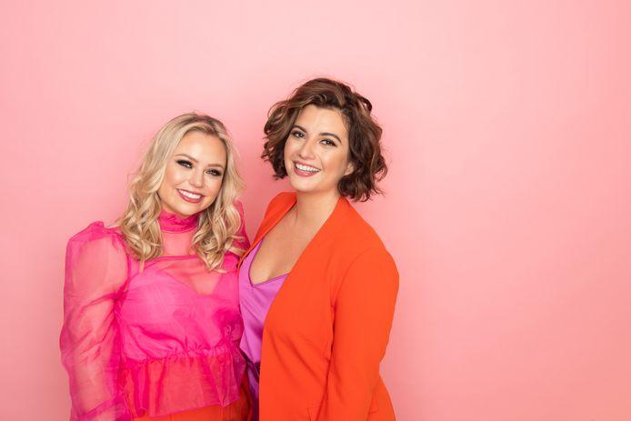 Jessica en Amy startten samen 'Alfavrouwen', een community die vrouwelijke ondernemers ondersteunt, zeker in coronatijden.
