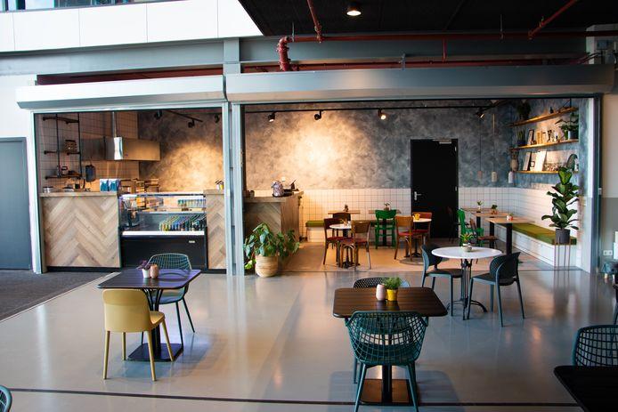 Lunchroom Driek op evenementenlocatie Breepark.