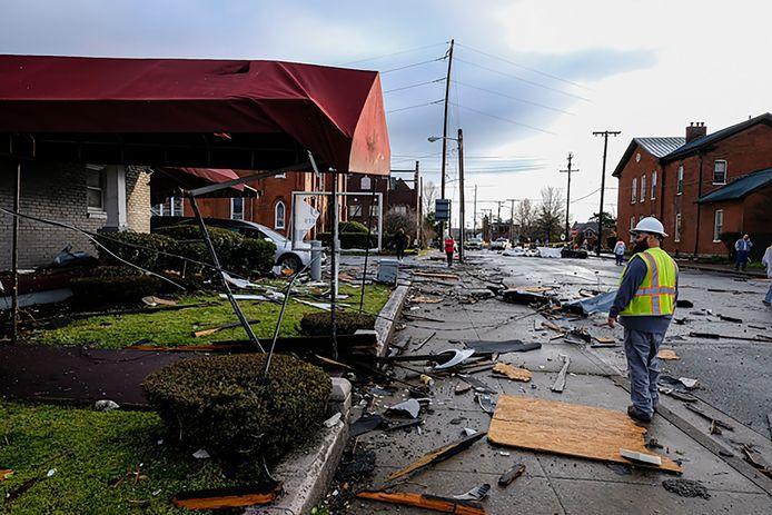 Tornado slaat toe in Nashville