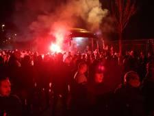 Kampioen SC Cambuur met vuurwerk onthaald