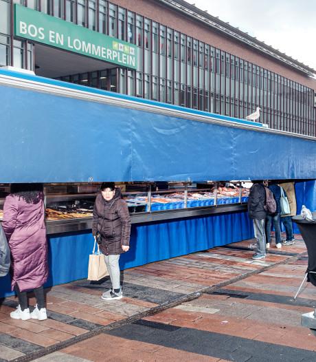 Buurt springt in de bres voor markt Bos en Lommerplein