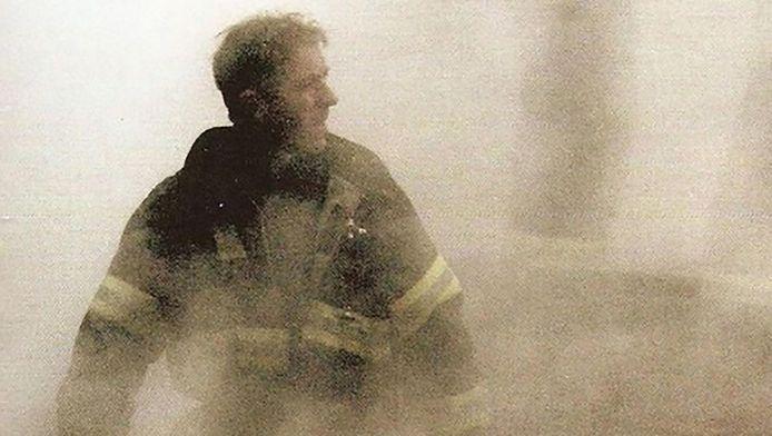 Brian J. Masterson ten tijde van de aanslagen in New York.