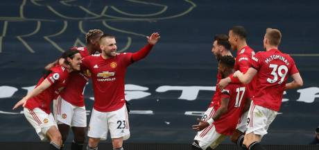 Manchester United kruipt richting City na zege bij Spurs, ook Arsenal wint