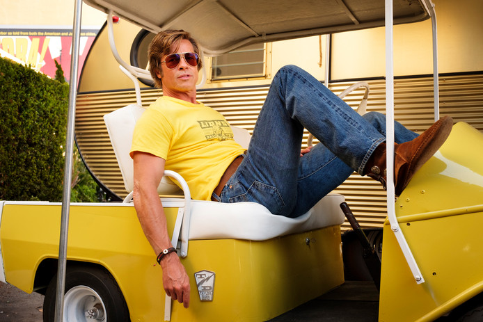 Brad Pitt in Once Upon a Time in Hollywood.