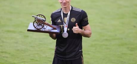 Robert Lewandowski élu par ses pairs Joueur de la saison en Bundesliga