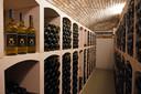 De wijnkelder van wijnhoeve Middeldorp.