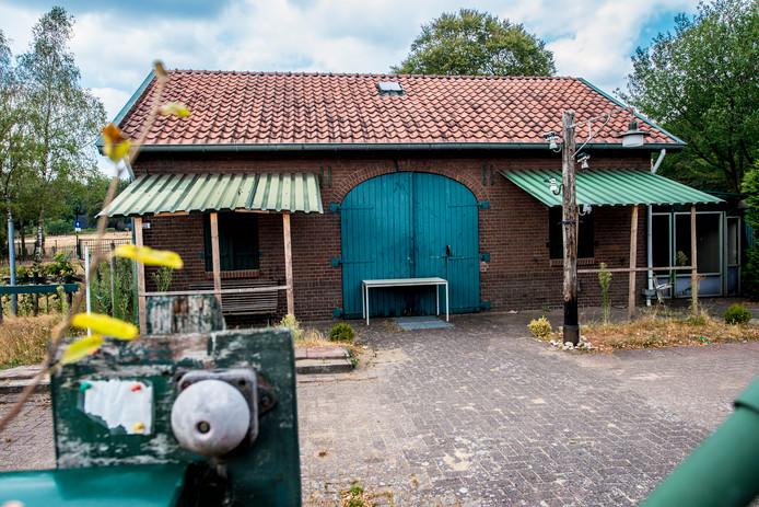 Het voormalig elektriciteits- en radiomuseum in Hoenderloo.