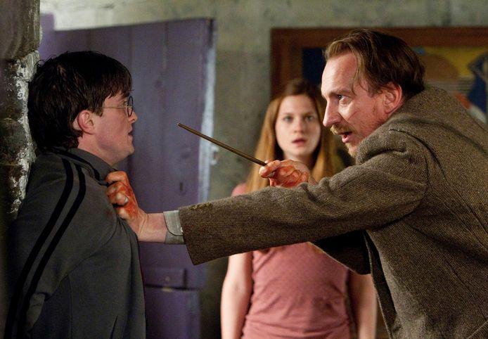 Bonnie als Ginny Wemel in een scène van Harry Potter and the Deathly Hallows.