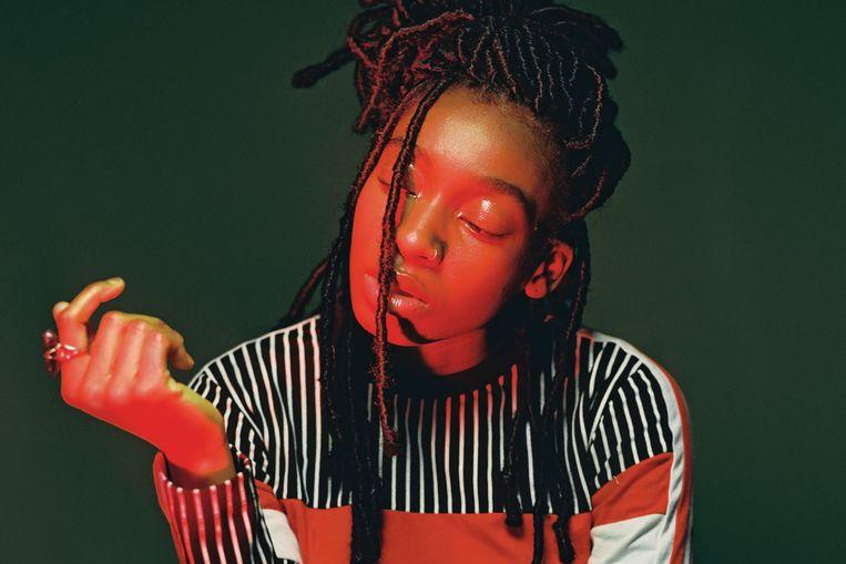Als sinds haar negen jaar is muziek voor Little Simz een creatieve uitlaatklep.  Beeld RV Jack Bridgland