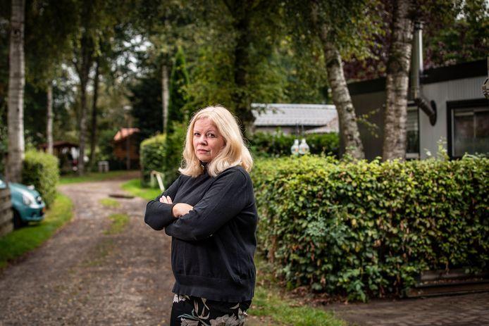Manon Agterbosch wil niets liever dan blijven op camping Het Berkenven, waar ze de rust gevonden heeft die ze elders niet vindt.