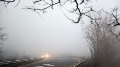 KMI waarschuwt voor rijmplekken of aanvriezende mist, dinsdag mogelijk sneeuw