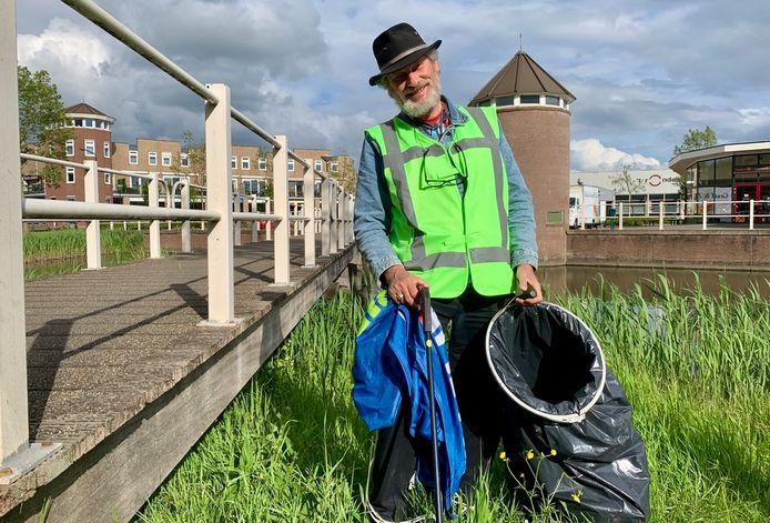 Jos Korthout heeft een 'rariteitenkabinet' aan gevonden afval.