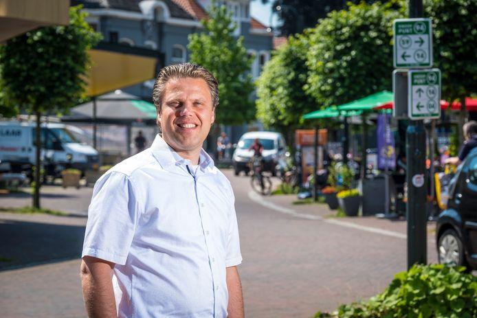 Gerhard den Boon is één van de kartrekkers van het digitale Warenhuis Heerde.
