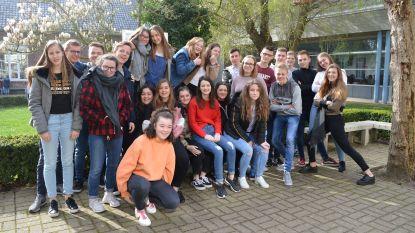 Waalse leerlingen te gast in het Onze-Lieve-Vrouwe-instituut
