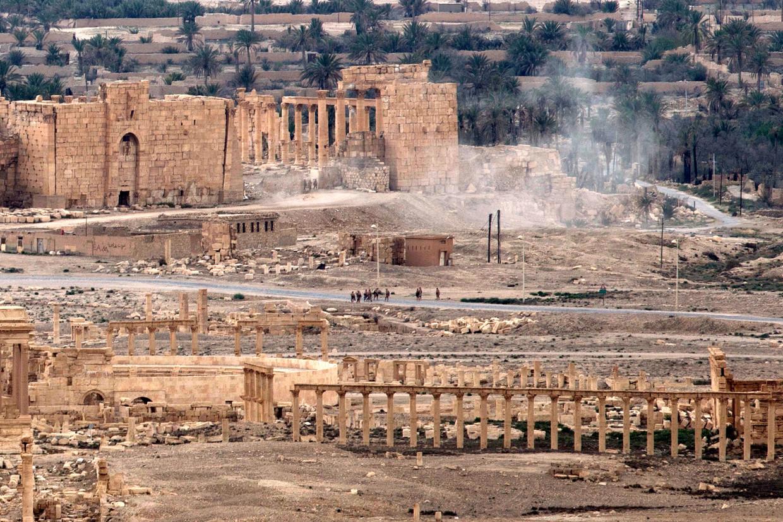 Wagner speelde een centrale rol bij de offensieven van het Syrische leger in Palmyra in 2016.