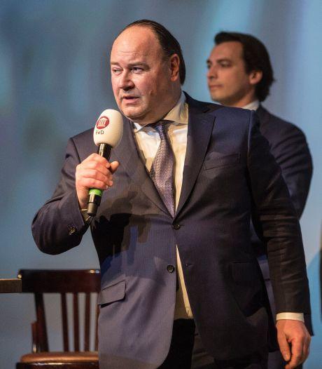 Heibel in top Forum voor Democratie na 'onhandige' tweet Thierry Baudet