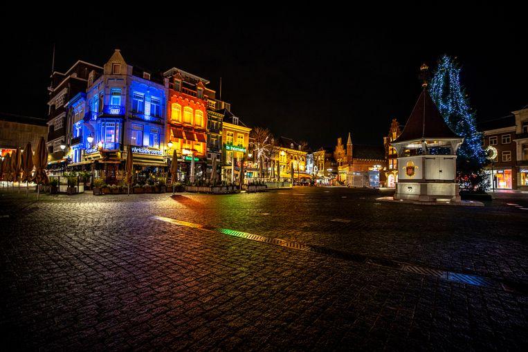 De Grote Markt in Den Bosch Beeld Raymond Rutting / De Volkskrant