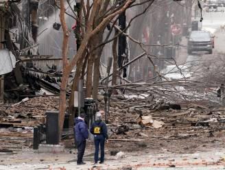 """""""Mogelijk menselijke resten gevonden na explosie in centrum Nashville"""": audioboodschap waarschuwde dat bom binnen vijftien minuten zou ontploffen"""