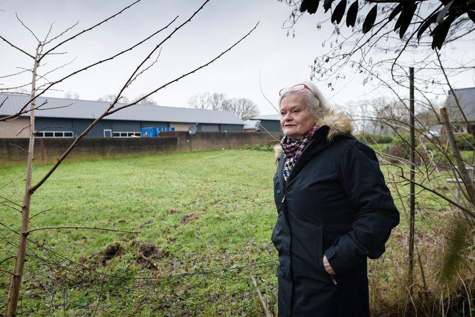 Henny Melse, bewoonster van het recreatiepark Kagelinkbos.