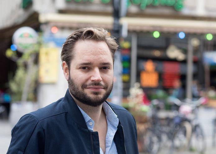 Het Rotterdamse PvdA-raadslid Dennis Tak.