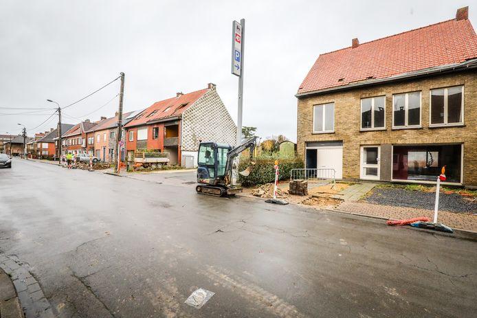 Deze woningen worden gesloopt.