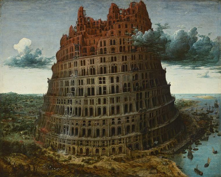 Pieter Bruegel de Oude: De toren van Babel, ca. 1565. Beeld null