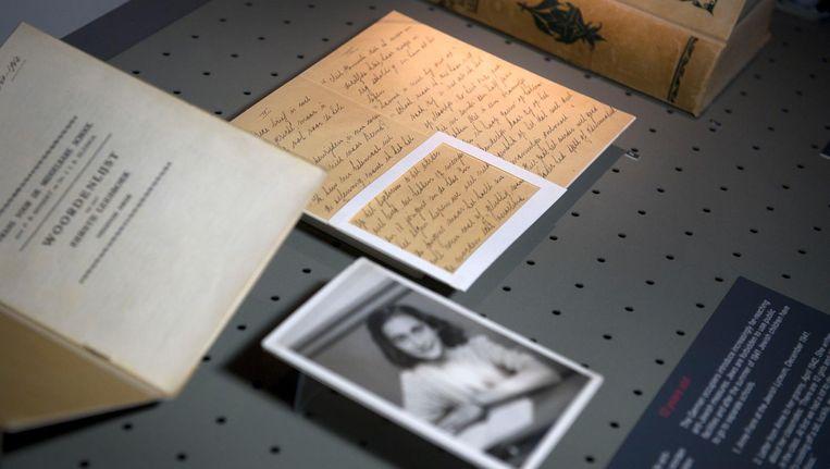 Anne Frank kwam af en toe bij hen over de vloer voor bijlessen Beeld anp