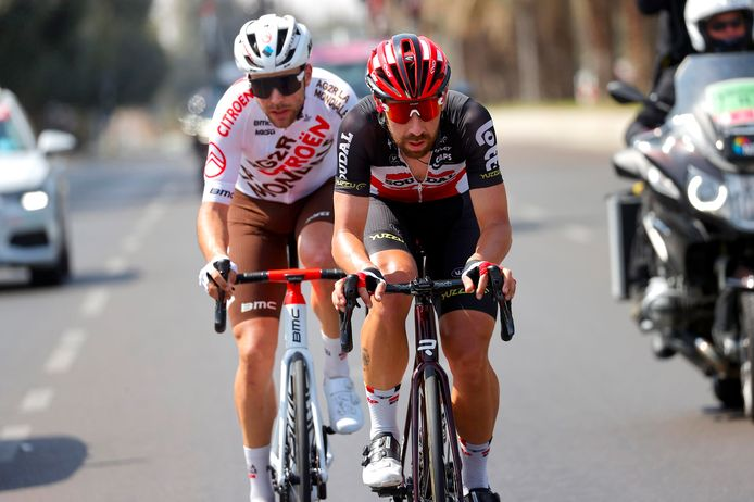 Thomas De Gendt en Tony Gallopin.